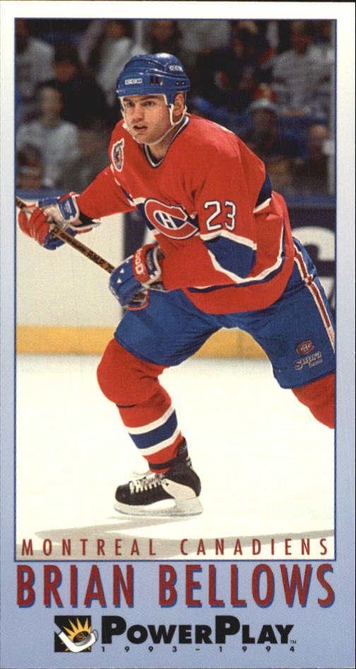 1993-94 PowerPlay #124 Brian Bellows