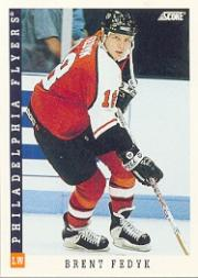 1993-94 Score #14 Brent Fedyk