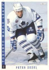 1993-94 Score #31 Peter Zezel