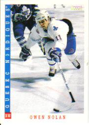 1993-94 Score #32 Owen Nolan