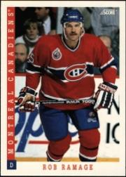 1993-94 Score #36 Rob Ramage