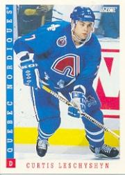 1993-94 Score #42 Curtis Leschyshyn