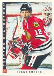 1993-94 Score #44 Brent Sutter