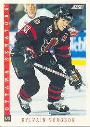 1993-94 Score #46 Sylvain Turgeon