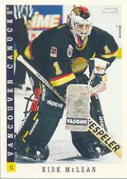 1993-94 Score #47 Kirk McLean