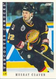 1993-94 Score #49 Murray Craven