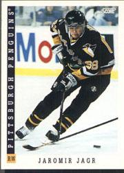 1993-94 Score #50 Jaromir Jagr