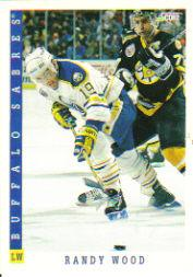 1993-94 Score #55 Randy Wood