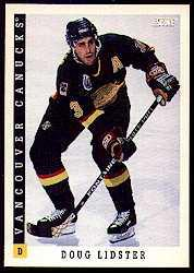 1993-94 Score #65 Doug Lidster