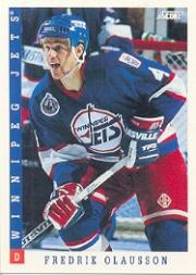 1993-94 Score #79 Fredrik Olausson