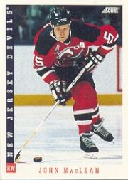 1993-94 Score #81 John MacLean
