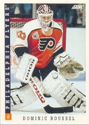 1993-94 Score #82 Dominic Roussel