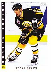 1993-94 Score #88 Steve Leach
