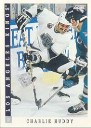 1993-94 Score #90 Charlie Huddy