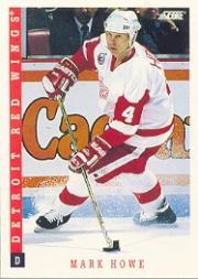 1993-94 Score #91 Mark Howe