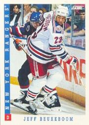 1993-94 Score #94 Jeff Beukeboom