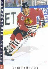 1993-94 Score #101 Chris Chelios