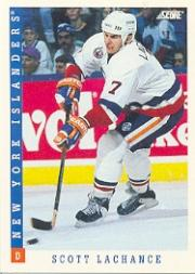 1993-94 Score #103 Scott Lachance