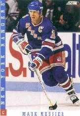 1993-94 Score #200 Mark Messier