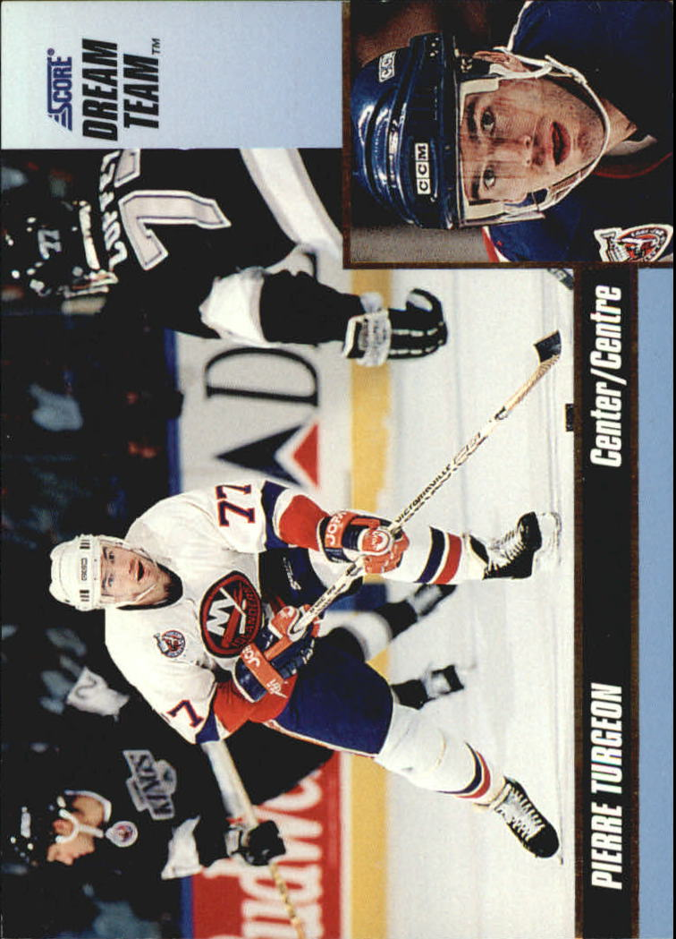1993-94 Score Dream Team #15 Pierre Turgeon