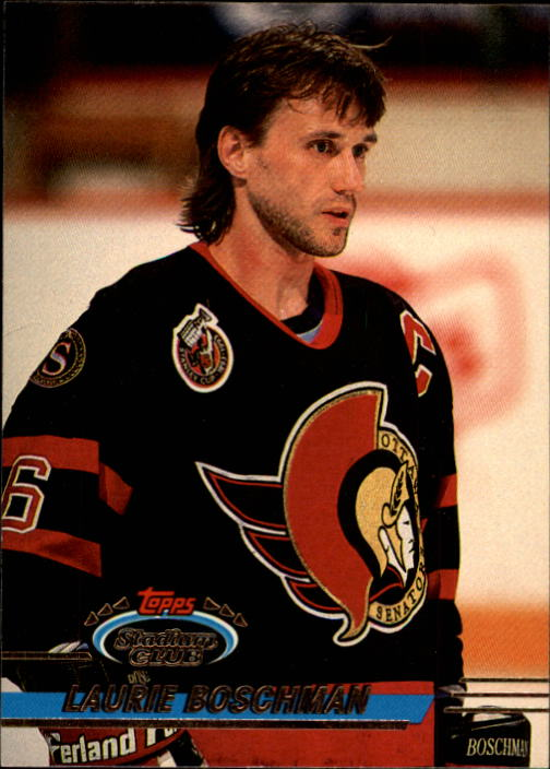 1993-94 Stadium Club #3 Laurie Boschman