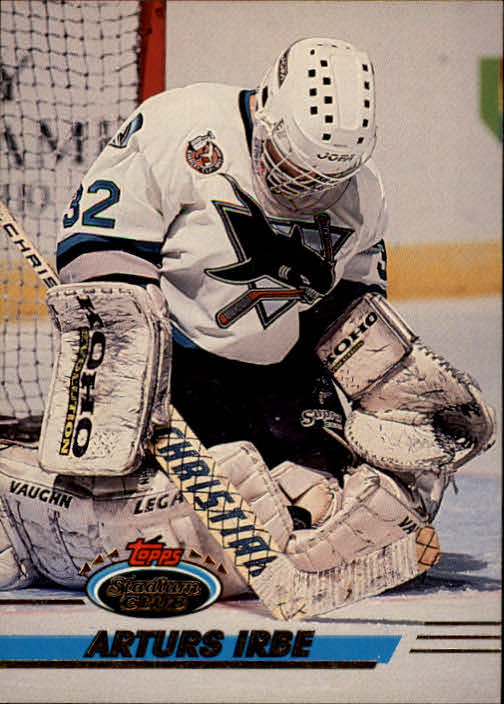 1993-94 Stadium Club #4 Arturs Irbe