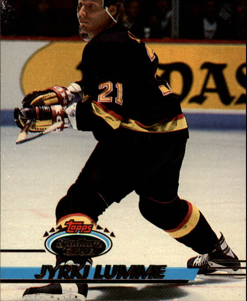 1993-94 Stadium Club #108 Jyrki Lumme