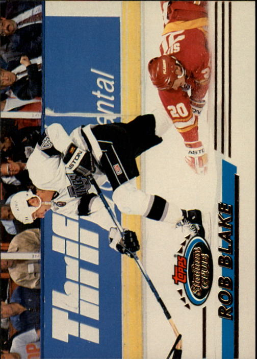 1993-94 Stadium Club #246 Rob Blake