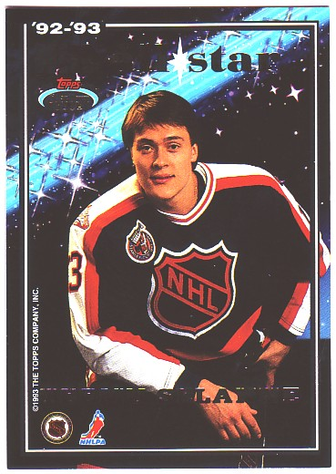1993-94 Stadium Club All-Stars #22 Mike Gartner/Teemu Selanne