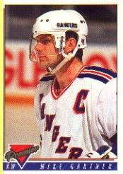 1993-94 Topps Premier #375 Mike Gartner