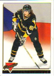 1993-94 Topps Premier Gold #325 Jaromir Jagr CZE
