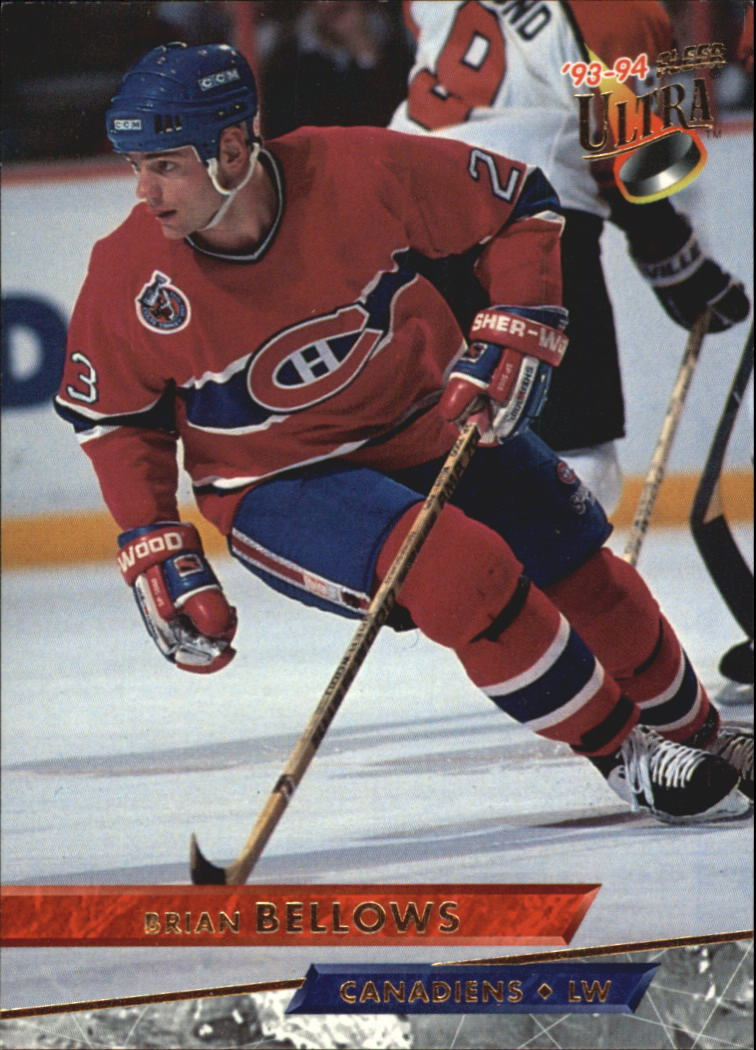1993-94 Ultra #4 Brian Bellows