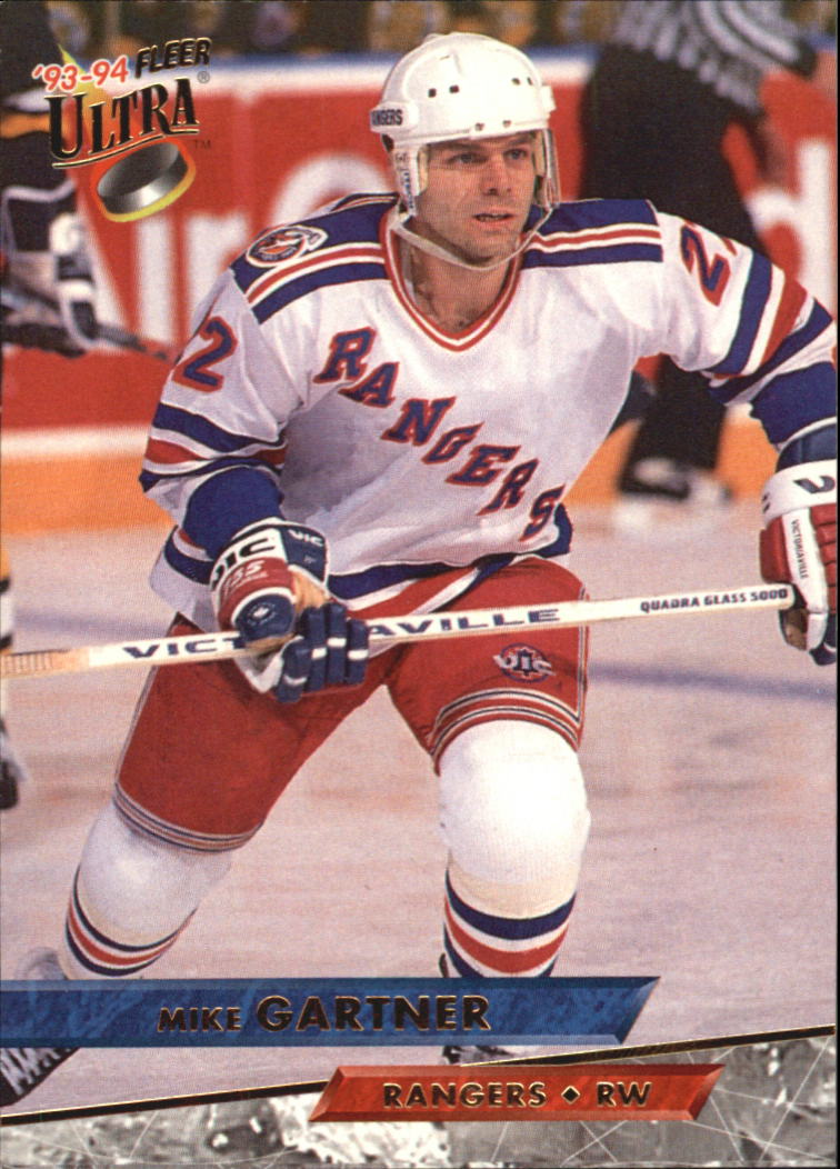 1993-94 Ultra #25 Mike Gartner