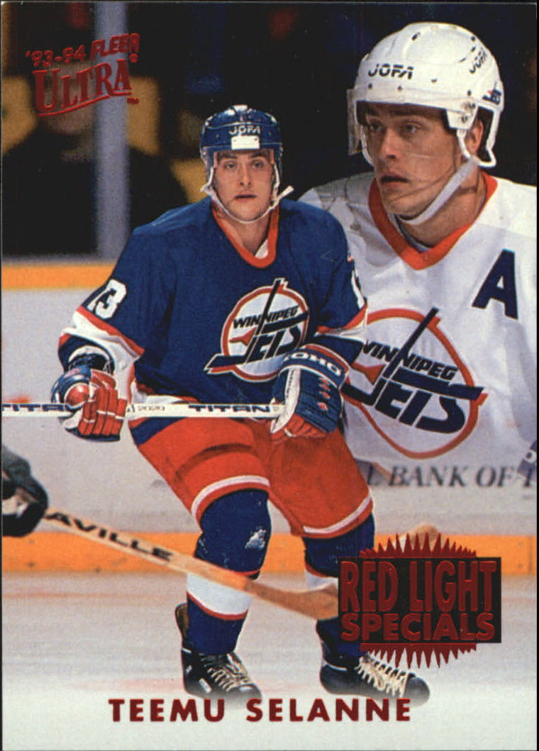 1993-94 Ultra Red Light Specials #10 Teemu Selanne