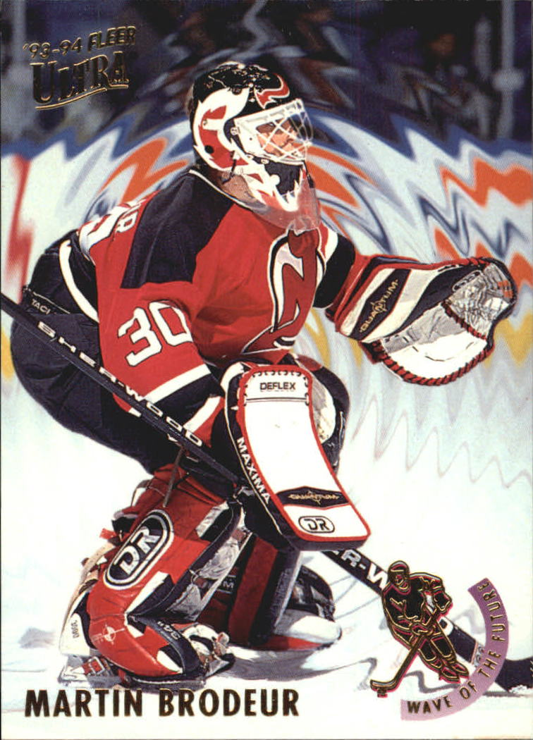 1993-94 Ultra Wave of the Future #2 Martin Brodeur