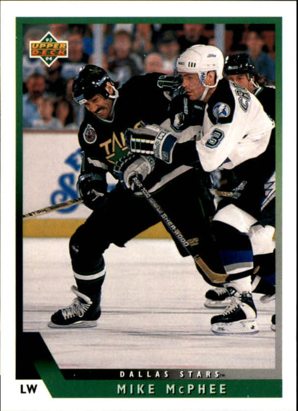 1993-94 Upper Deck #43 Mike McPhee
