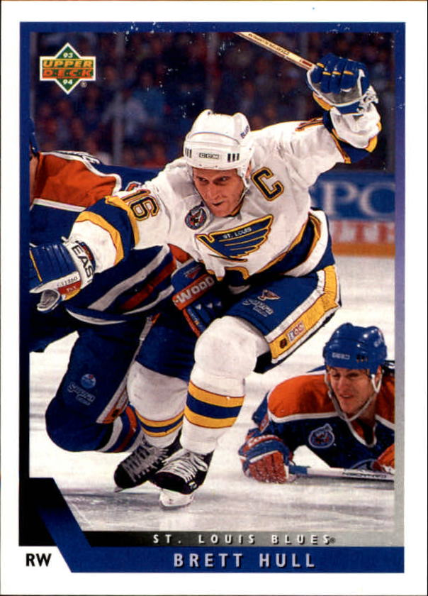 1993-94 Upper Deck #160 Brett Hull