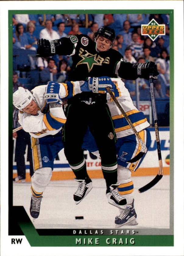 1993-94 Upper Deck #191 Mike Craig