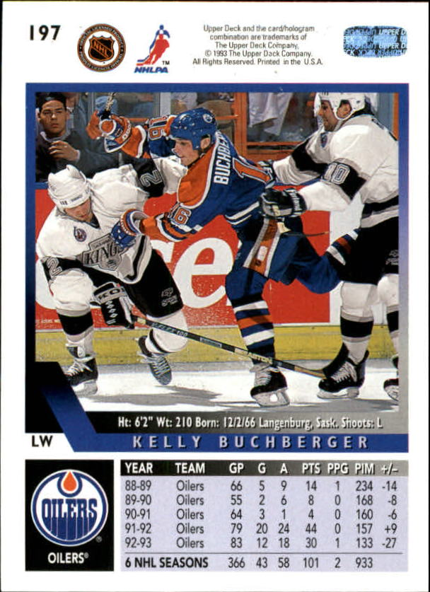 1993-94-Upper-Deck-Hockey-Cards-1-250-Pick-From-List