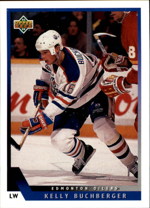 1993-94 Upper Deck #197 Kelly Buchberger