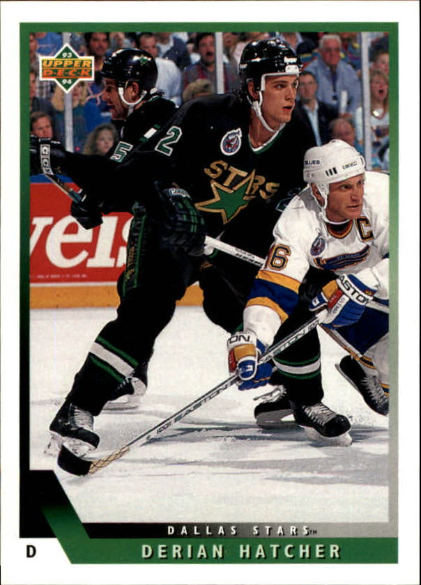 1993-94 Upper Deck #204 Derian Hatcher
