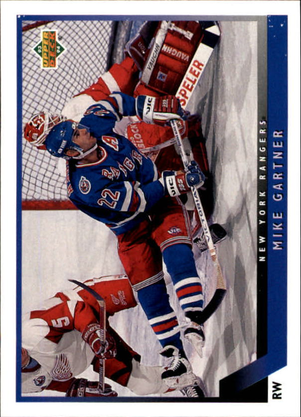 1993-94 Upper Deck #205 Mike Gartner