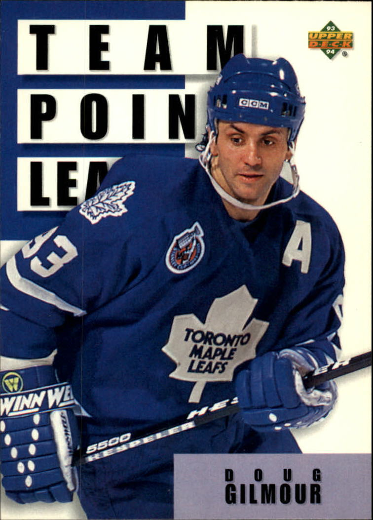 1993-94 Upper Deck #306 Doug Gilmour TL