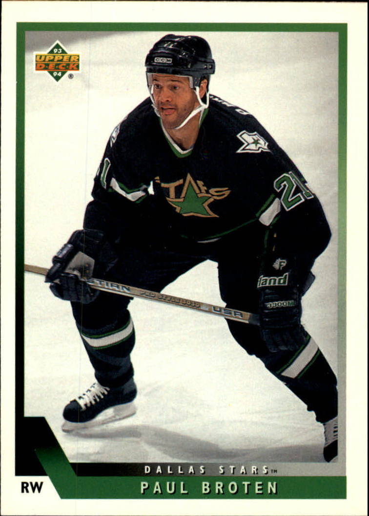 1993-94 Upper Deck #468 Paul Broten