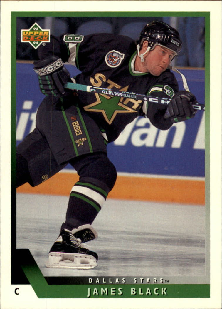 1993-94 Upper Deck #517 James Black