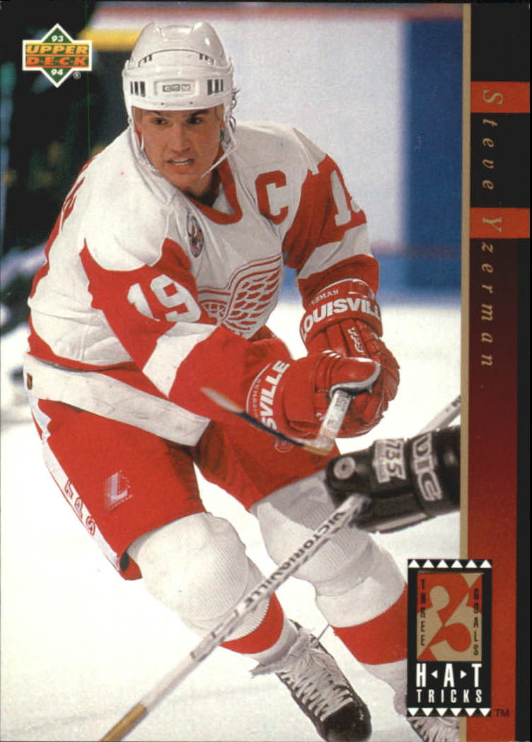 1993-94 Upper Deck Hat Tricks #HT6 Steve Yzerman