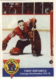 1993-94 High Liner Greatest Goalies #8 Tony Esposito