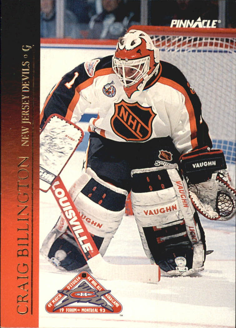 1993-94 Pinnacle All-Stars Canadian #1 Craig Billington