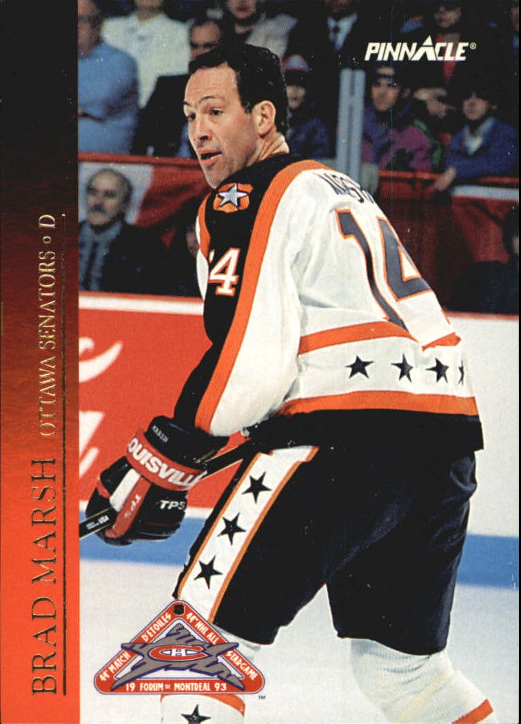 1993-94 Pinnacle All-Stars Canadian #10 Brad Marsh