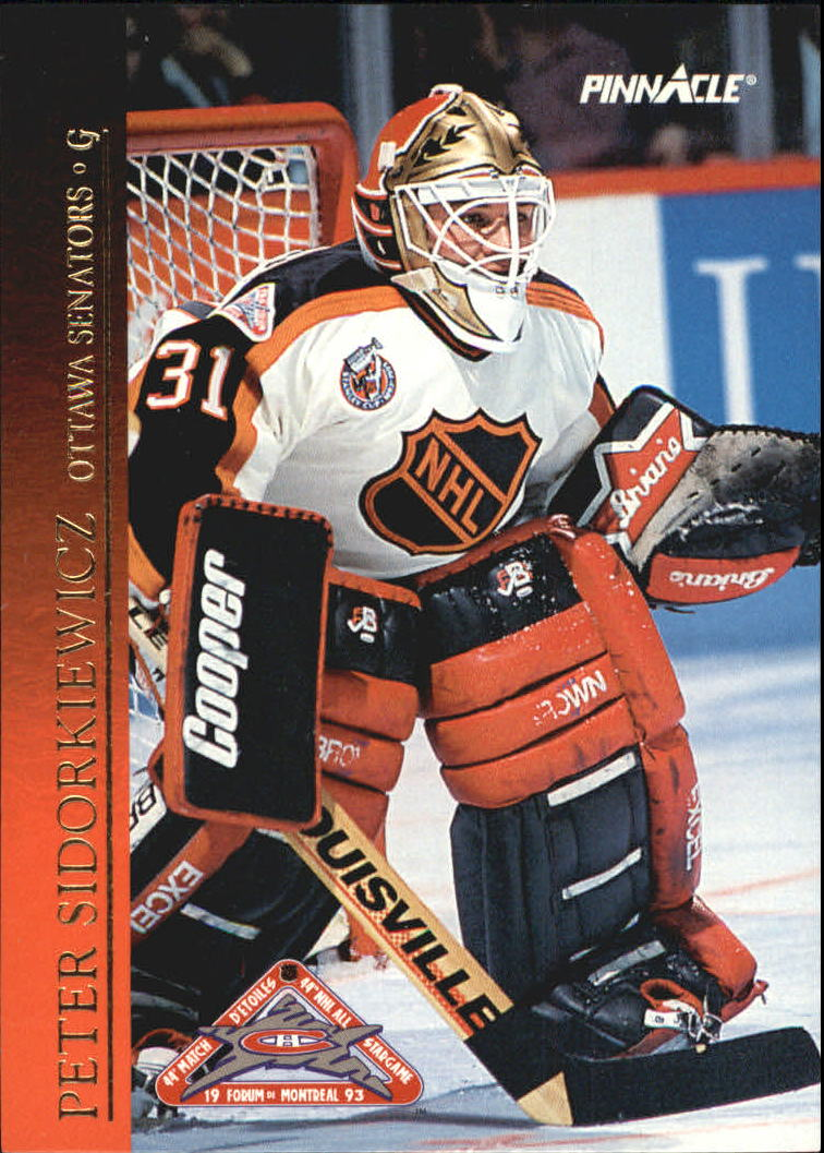 1993-94 Pinnacle All-Stars Canadian #17 Peter Sidorkiewicz